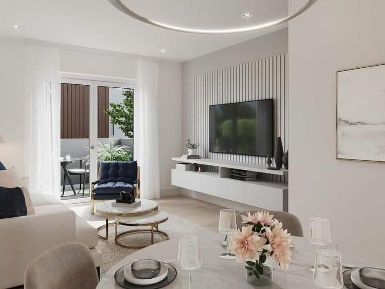 Lakewood living room by ValiDesign.