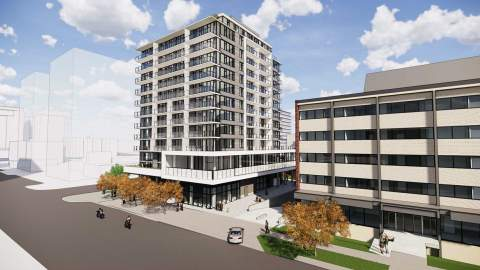 1-, 2-, & 3-bedroom Condominiums Coming Soon To Cook & Yates.