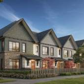 A collection of 75 Craftsman-style townhomes in Coquitlam's picturesque Burke Mountain neighbourhood.