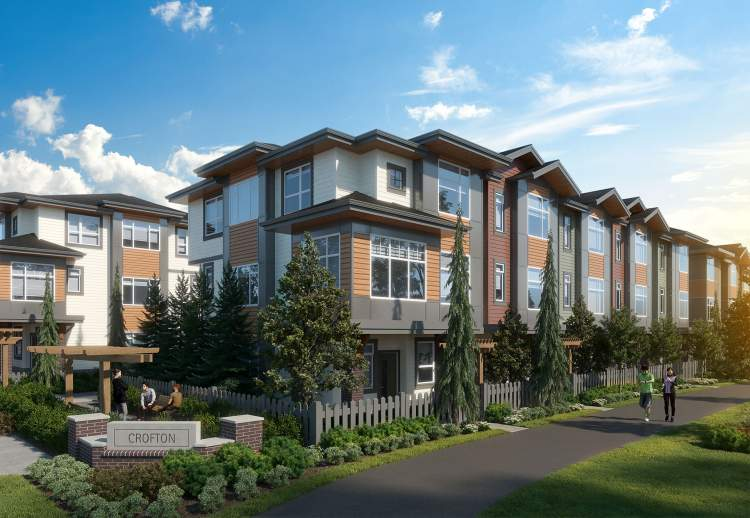 An intimate community of 80 townhomes coming soon to Yorkson in Langley Township.
