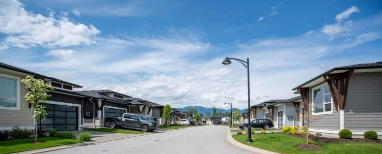 A gated, single-family rancher community located in Sardis in the Fraser Valley.