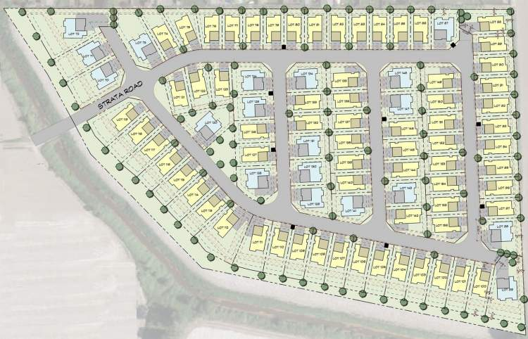 Elysian Village Phase II offers a selection of 86 lots up to 9,000 sq ft.