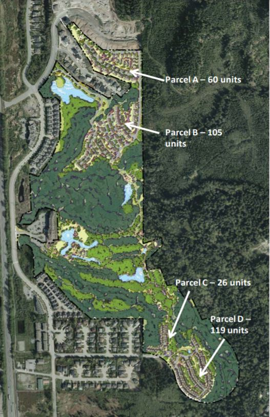 Polygon homes will redevelop the former Garibaldi Springs Golf Course into four residential communities, parkland, and an ecological reserve.