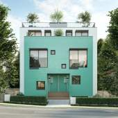 Eight 2- and 3-bedroom walk-up townhomes steps from Commercial Drive.
