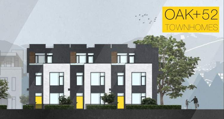 Only 23 modern, 3-bedroom family townhomes on Vancouver's west side.