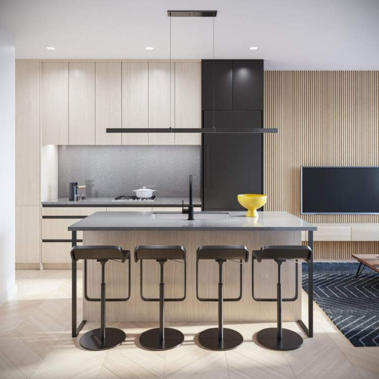 Oak+52 townhomes have been designed for modern family living.