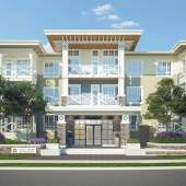 Pilothouse is a U-shaped, 3-storey building located in a scenic riverside community nestled between a golf course and a yacht club.