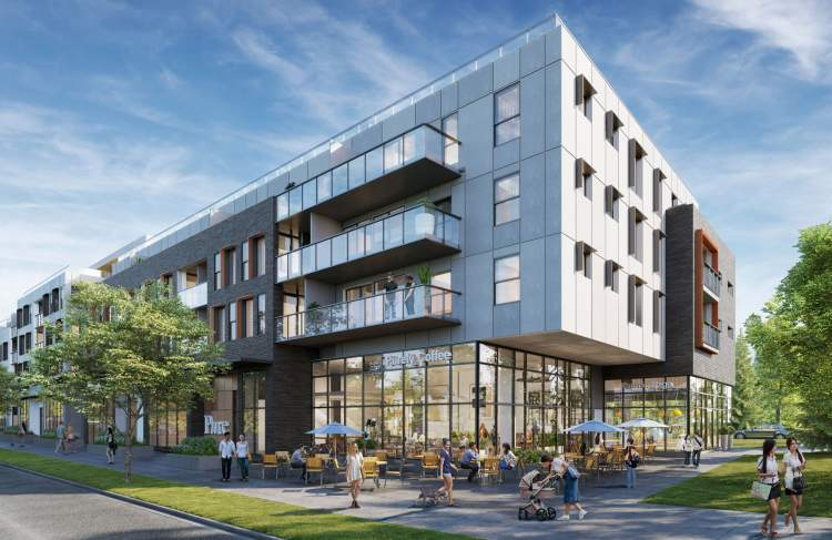 A collection of Vancouver West Side condos and townhomes at Langara.