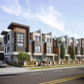 A collection of 15 luxury townhomes in Richmond's Broadmoor neighbourhood.