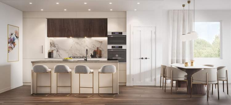 German-designed and crafted Bauformat kitchens have been tailored to surpass expectations.