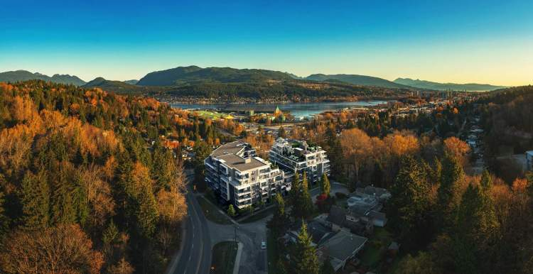 Capture the sweeping panoramic views of the North Shore and Burrard Inlet.