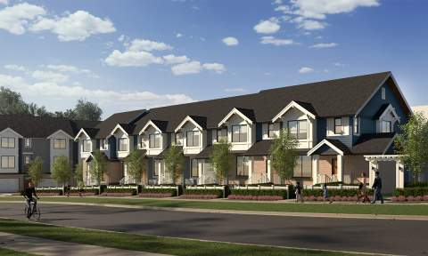 This Collection Of Beautiful 3- & 4-bedroom Townhomes Combines West Coast Appeal With Classic British-inspired Charm.