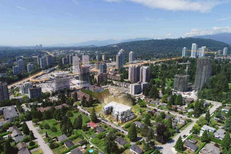 Set amid a quiet residential location with convenient access to Lougheed Centre amenities and services.