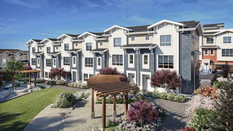A collection of 3- and 4-bedroom executive townhomes in South Surrey.