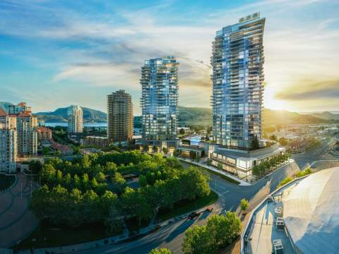 A Mixed-use Development Featuring A Commercial Podium, 2 Residential Towers, And 1.3 Acres Of Outdoor Amenities.