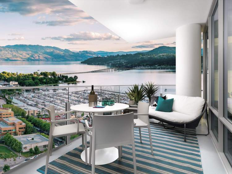 A limited collection of sub-penthouses begins at the 26th floor.