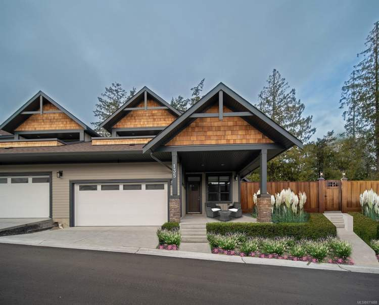 West Coast architecture features HardiePanel and wood shingle exteriors complemented by beautiful stonework.