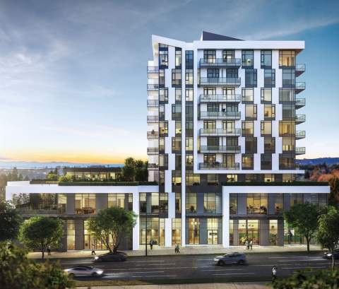 This 10-storey, Mixed-use West Side Highrise Offers A Selection Of 64 1- To 3-bedroom Condos.