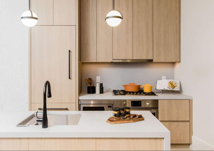 Spacious kitchens are designed for the daily lives of families of all sizes.