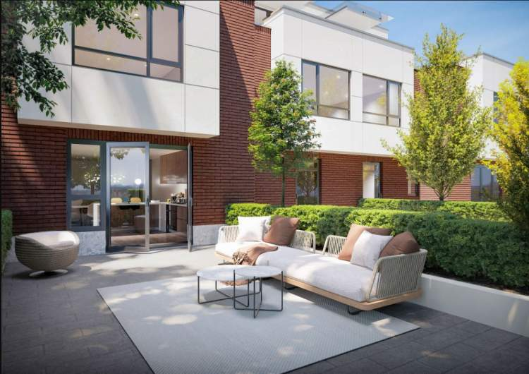 Each home has its own ground floor patio with space for lounging or grilling.