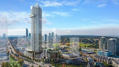 A 54-storey Mixed-use Tower At The Corner Of 108 Avenue And King George Boulevard.