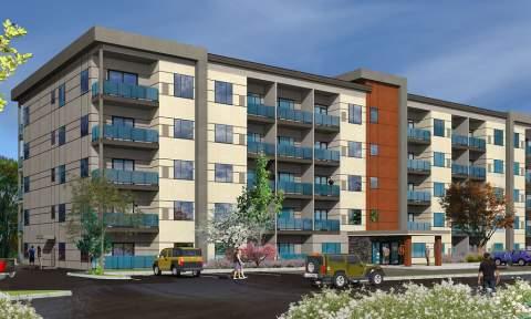 A New 5-storey Okanagan Condominium Development Coming Soon To Westbank Centre In West Kelowna.