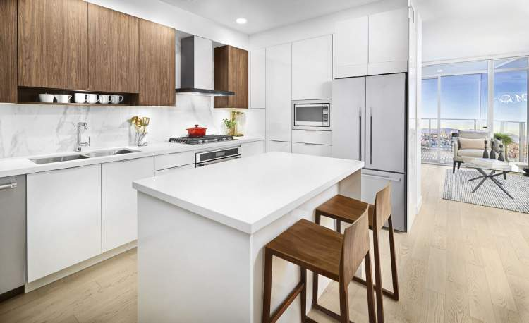 Spacious kitchens are as well-suited to the preparation and enjoyment of a casual meal as a full-scale dinner party.