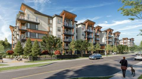 A New Community Of 330 Condominiums Located On The Edge Of Downtown Haney.