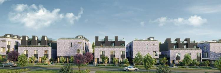 A community of elevated terrace residences of 1-, 2- & 3+-bedroom homes.