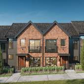 Twenty family-oriented townhomes on a quiet cul-de-sac near Lougheed Town Centre Station.