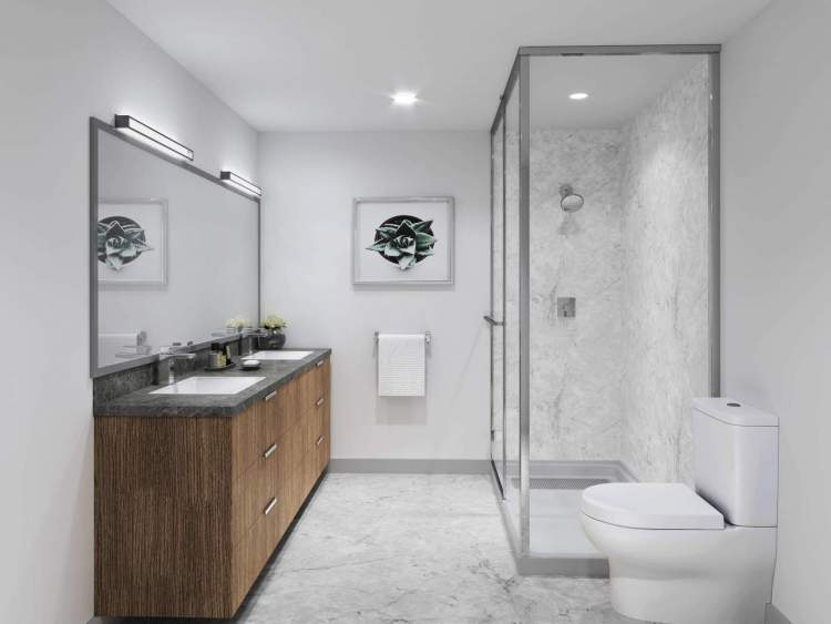 Relax and rejuvenate in spa-like bathrooms with high quality finishes that are built to last.