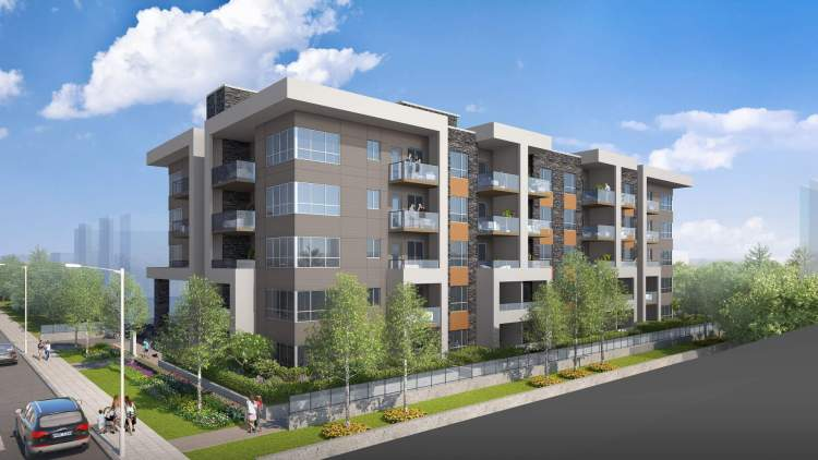 A new community of 54 modern condominiums in downtown Maple Ridge.