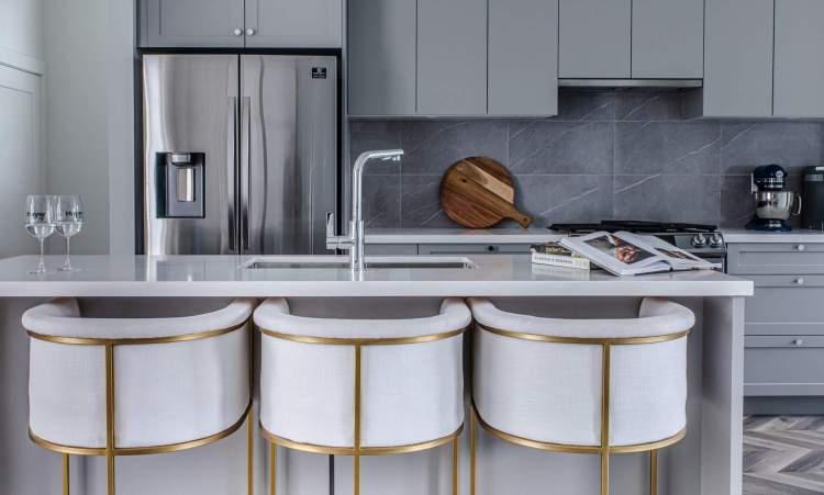 Designer concept for Parallel townhouse kitchen.