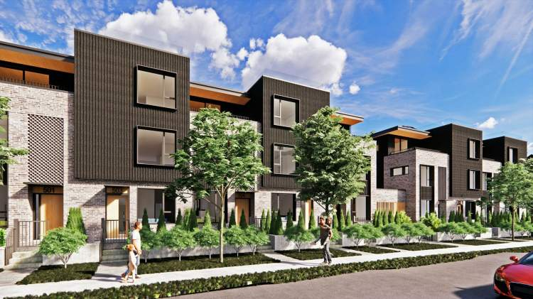 A rare offering of 47 townhomes in Vancouver's West Side.