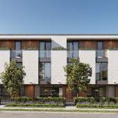 The Willow at West 27th offers 11, generously-sized, 3-bedroom parkside townhomes.