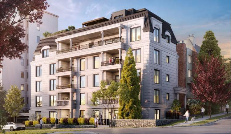 A limited collection of luxurious 2- and 3-bedroom homes in English Bay.
