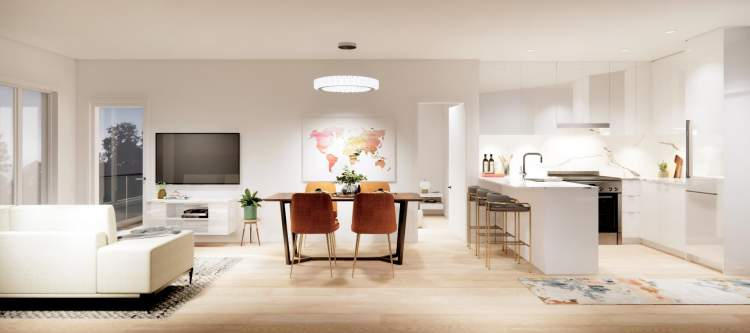 Inspired by Scandinavian architecture, Aura captures the healthy balance of luxury and modernized living.