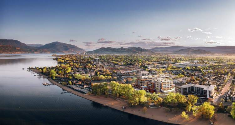 Situated on the South Pandosy beachfront, Caban captures the natural beauty of the Okanagan.