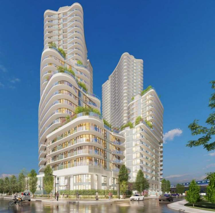A collection of 1,014 condominiums & townhomes coming soon to Surrey City Centre.