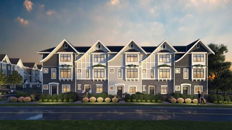 A collection of 41 family-friendly townhouses in Maple Ridge.