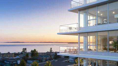 A Collection Of 97 White Rock Condominiums With Unobstructed Views Towards The East, South, And West.