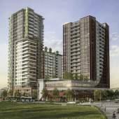 A new collection of 171 Surrey City Centre market condominiums.