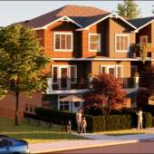 A collection of 3- and 4-bedroom homes in Northside Port Coquitlam.
