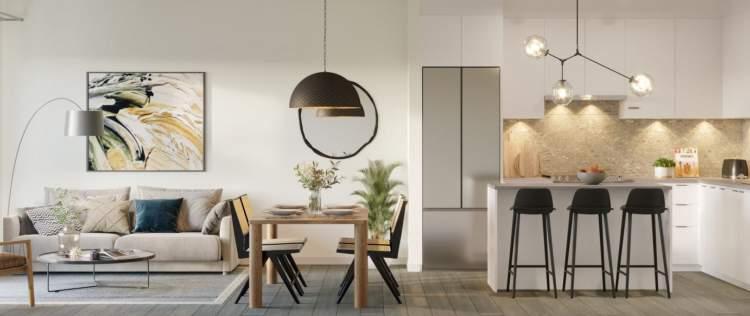 Two professionally-designed colour schemes by The Collaborative Design Studio.