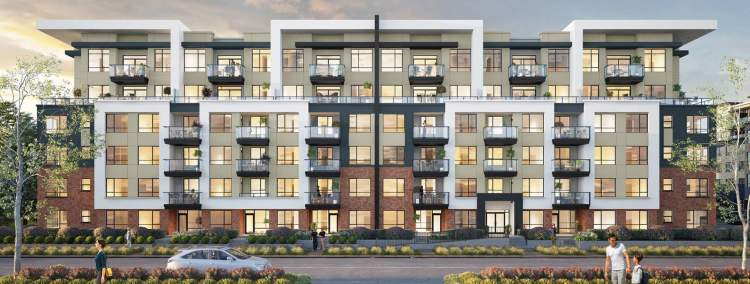 This 6-storey development offers 240 homes with a central location and a walkable community.