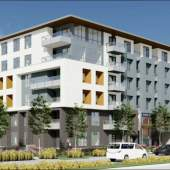 A new collection of two 6-storey mid-rises with 254 condominiums coming to Surrey City Centre.