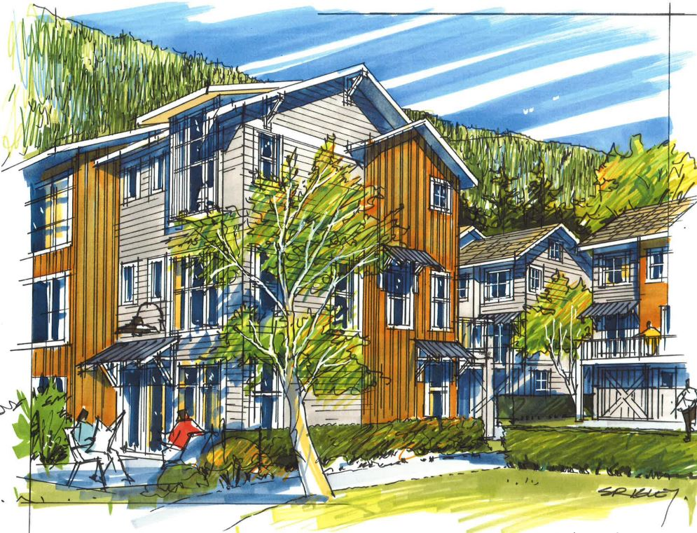 A New Community Of 73 Townhomes And A Commercial Village With Many Refurbished Historic Buildings.