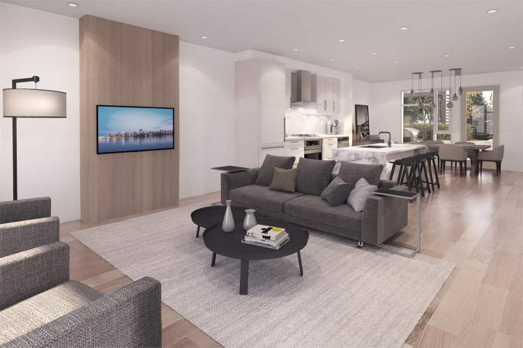 Homebuyers can choose from two colour schemes: Oak or Park.