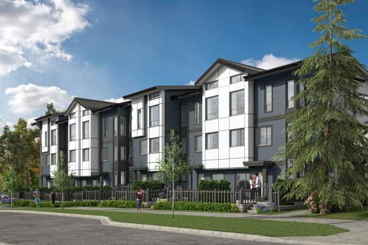 A collection of 29 family-sized townhomes in East Clayton.