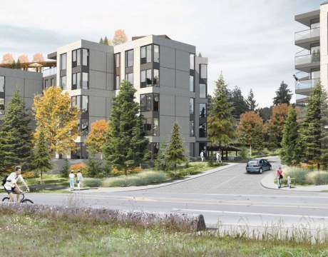 A Collection Of 242 Parkside Condominiums Coming Soon To Saanich.